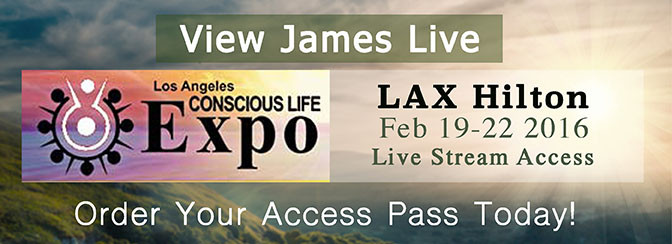 2016 Conscious Life Expo: James Redfield Live Stream Access