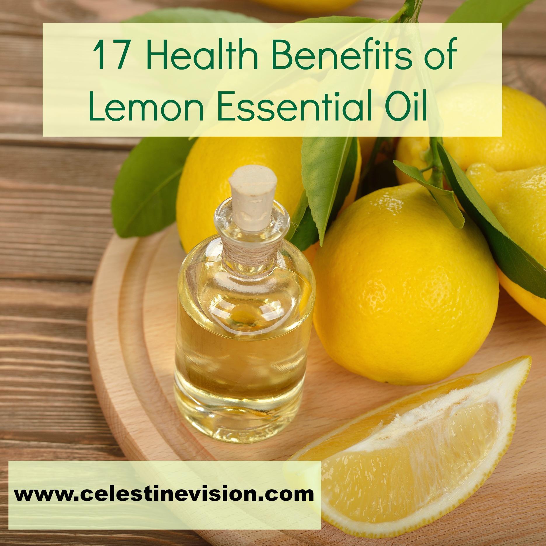 17 health benefits of lemon essential oil celestine vision