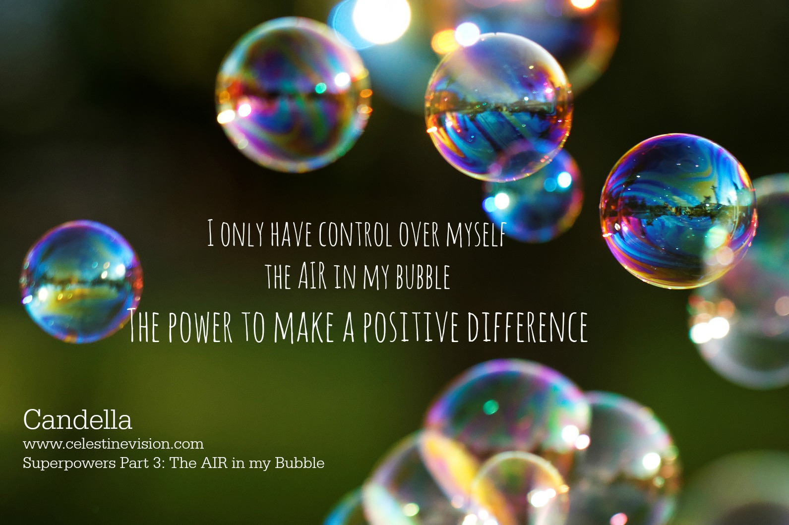 Superpowers Part 3: The AIR in my Bubble