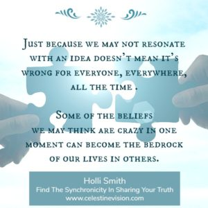 Find The Synchronicity In Sharing Your Truth