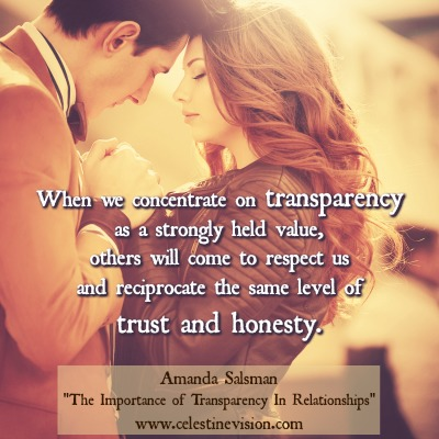 The Importance of Transparency in Relationships