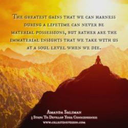 Develop Consciousness